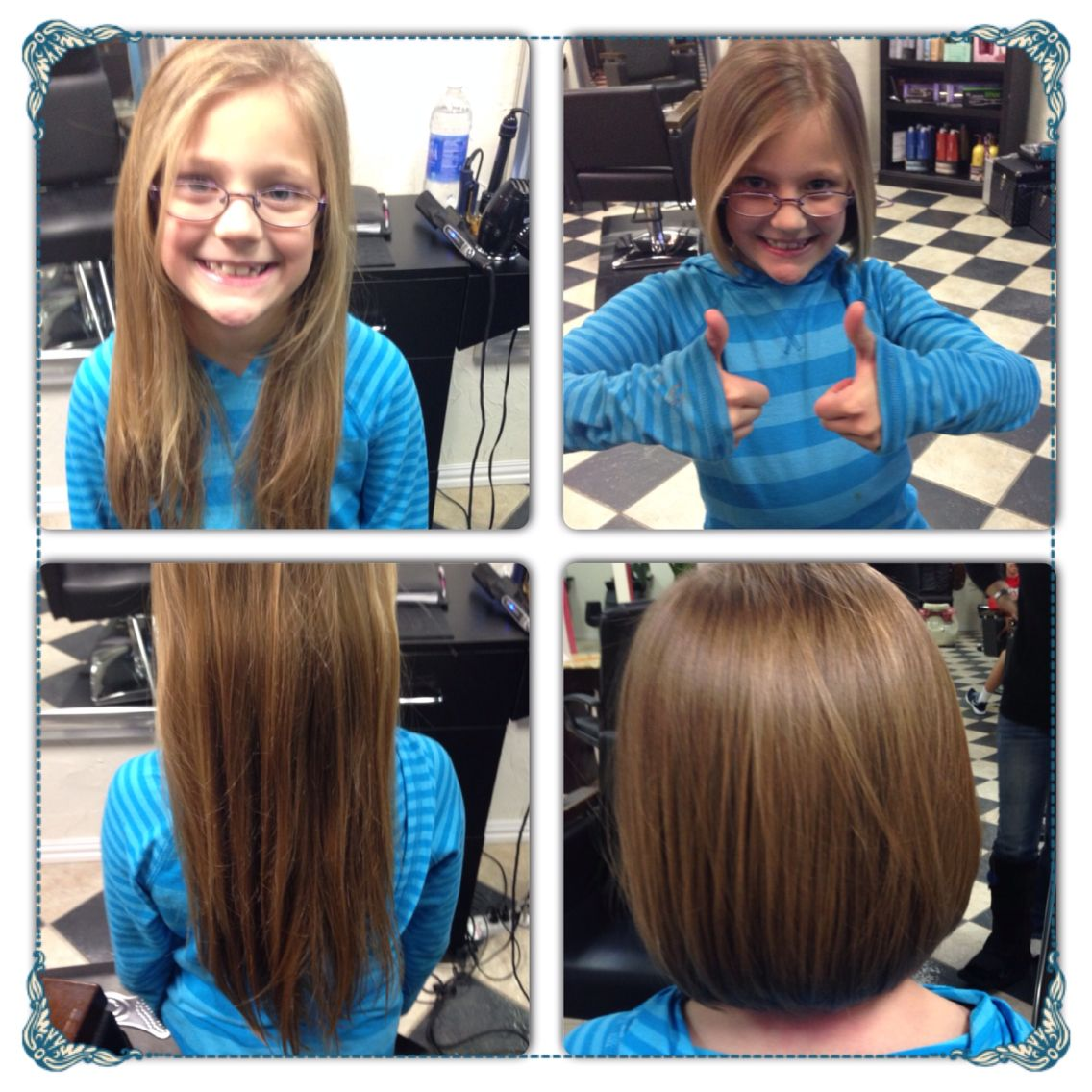 Before And After Haircut Shae Cut Off 12 Inches To Donate To