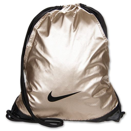 nike bags gold