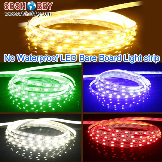 12V Waterproof Led Light Strips Pleasing 1M* 60 Bulbs No Waterproof Led Bare Board Light Strip 12V 3528 Multi Design Inspiration