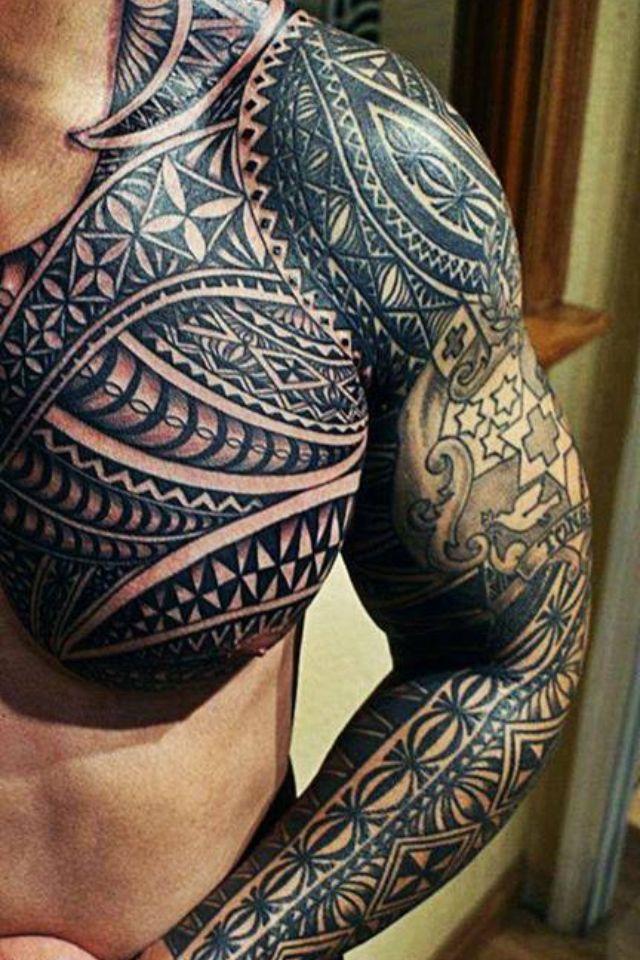 Nice chest pice   Tribal tattoos, Maori tattoo designs, Tribal arm tattoos