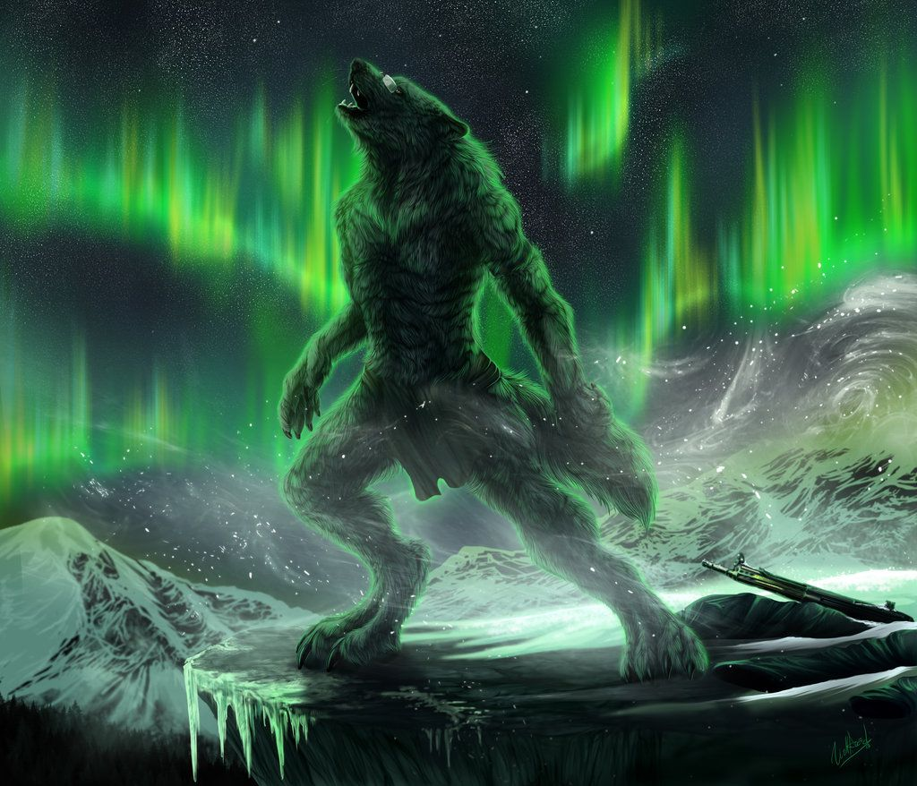 Dancing lights by WolfRoad Werewolf vs vampire, Werewolf