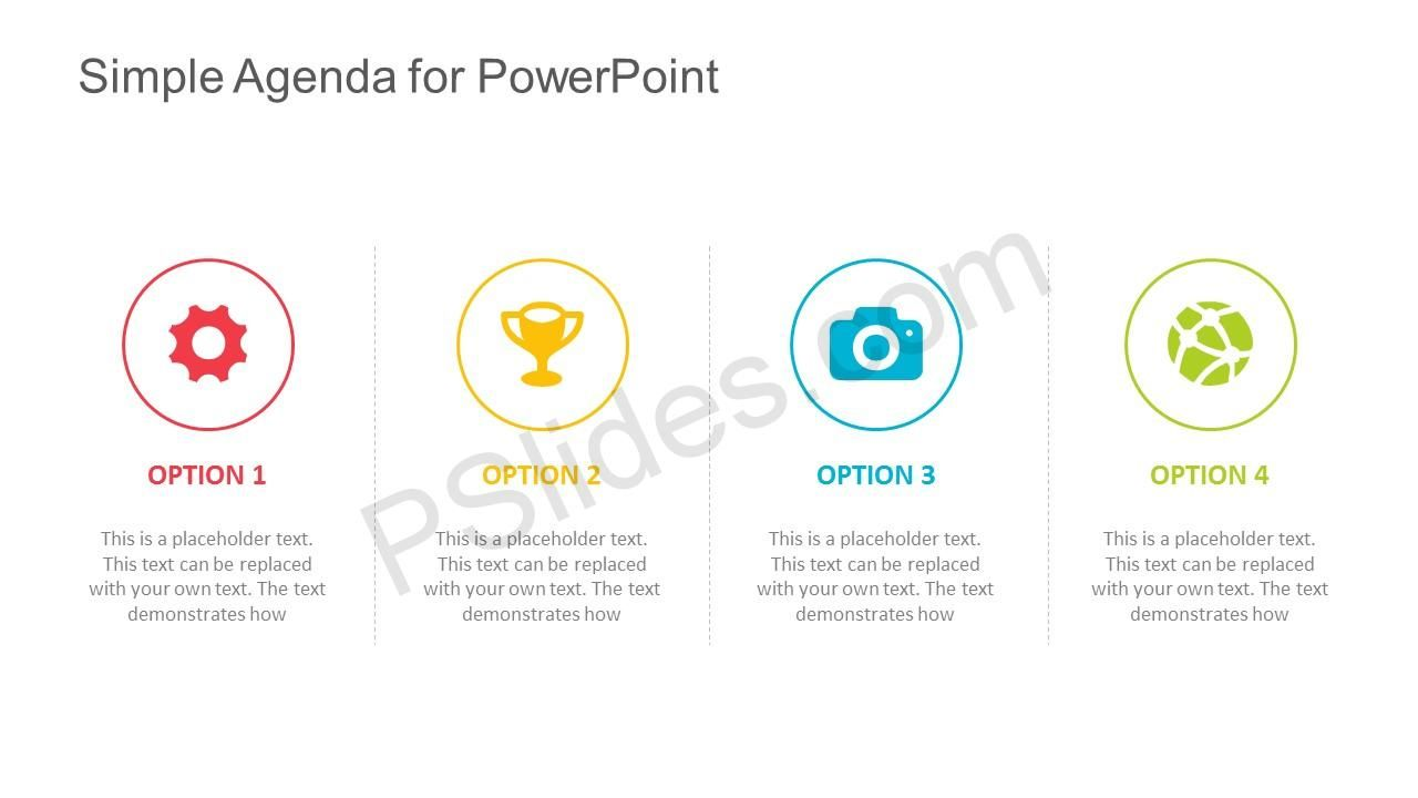 Free Simple Agenda Template for PowerPoint Check more at https ...