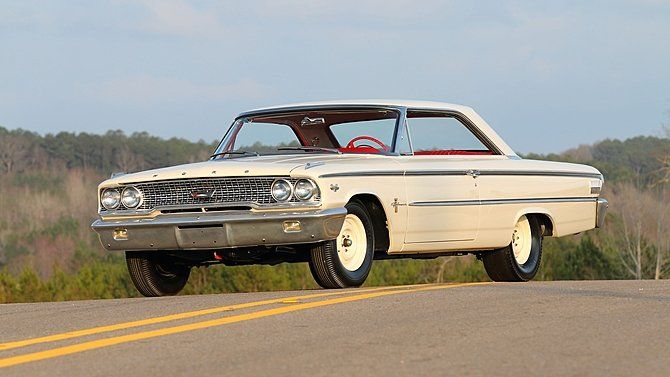 1963 Ford Galaxie Lightweight Offered For Auction 1733689 Ford Galaxie Ford Galaxie 500 Galaxie
