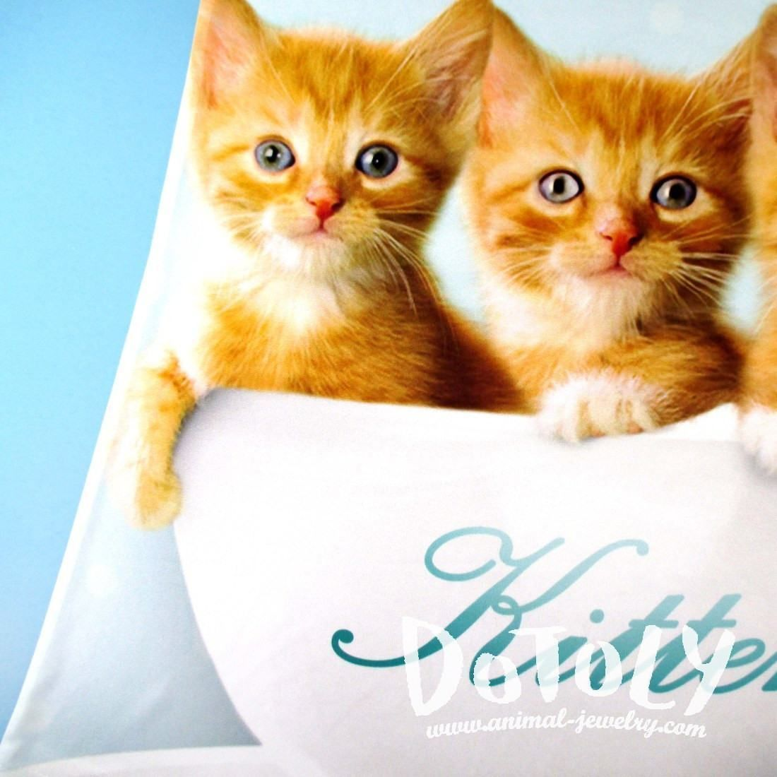 Ginger Kittens Sitting In A Teacup All Over Print Tank Top In White Ginger Kitten Ginger Cats Ragdoll Kitten