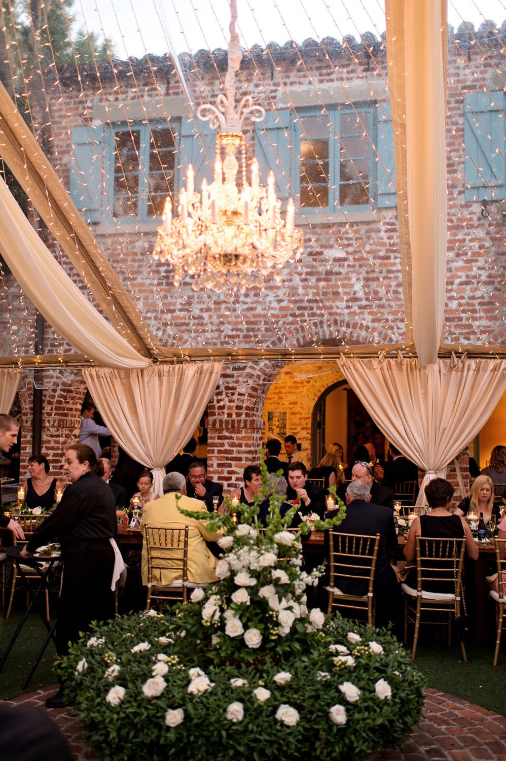 Luxury Garden Wedding In Winter Park Florida At Casa Feliz In