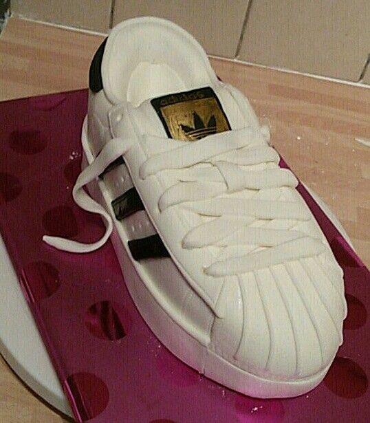 adidas shoe cake template