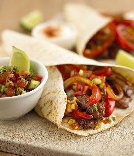 Try out the mouthwatering beef fajita recipe for a nice spicy change. #beeffajitarecipe Try out the mouthwatering beef fajita recipe for a nice spicy change. #beeffajitarecipe