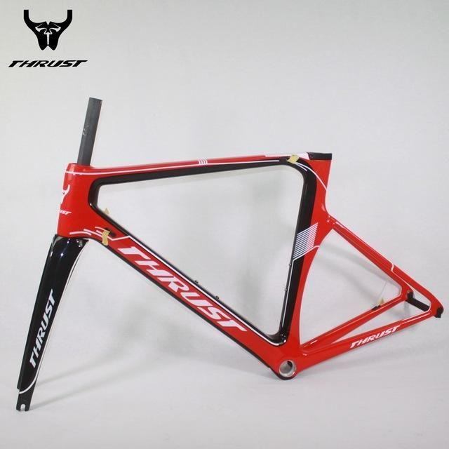 THRUST Carbon Fiber Bike Carbon Road Bike Frame BB30&BSA Design ...