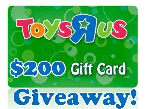 200 Toys R Us Gift Card Giveaway Gift Card Giveaway