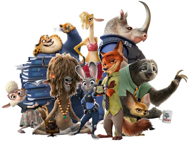 Characters Zootopia Characters Disney Fan Art Cartoon