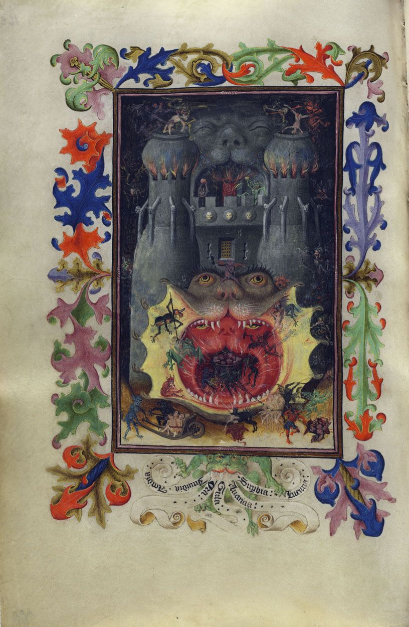 Mouth of Hell | Hours of Catherine of Cleves | Illuminated Manuscript | ca. 1440 | The Morgan Library & Museum