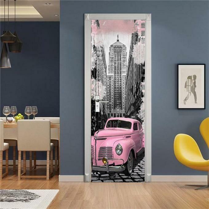 Mural Self-adhesive Vinyl Decal Door Decoration Poster