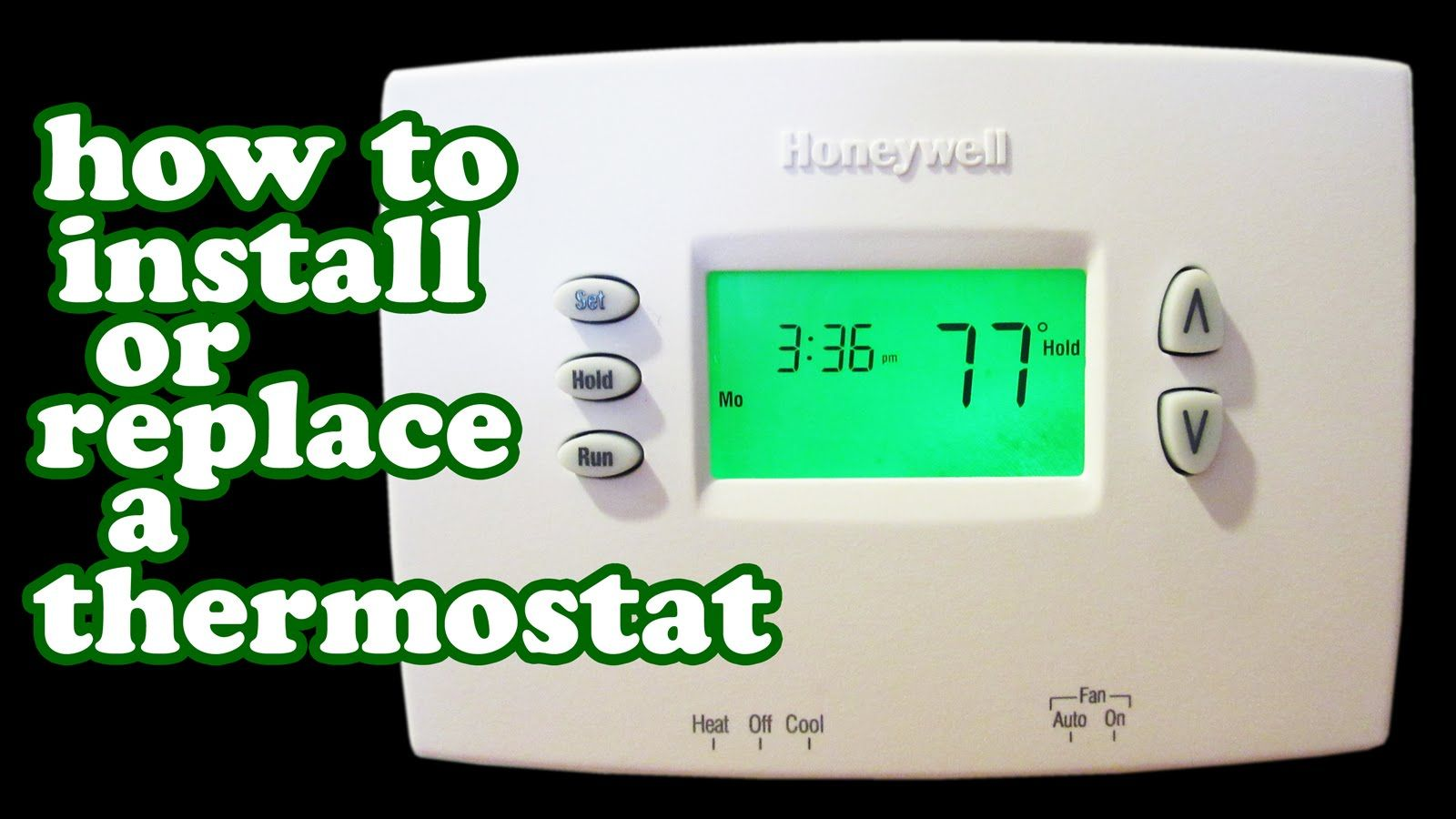 Thermostat Wiring Air conditioner heater, Home thermostat