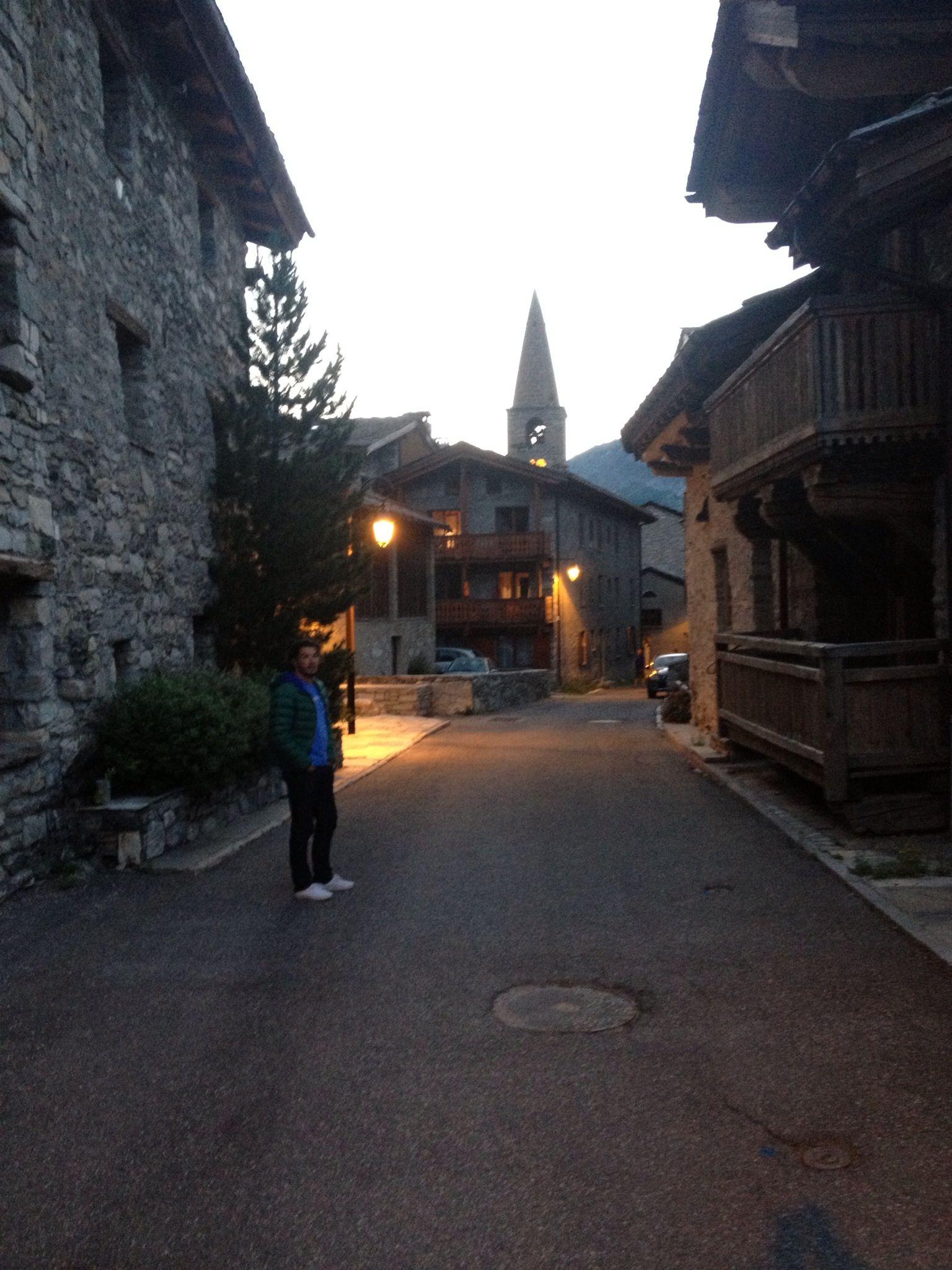 #Vald'Isère #Alpes #station #montagne #ski #France #nuit #lumière