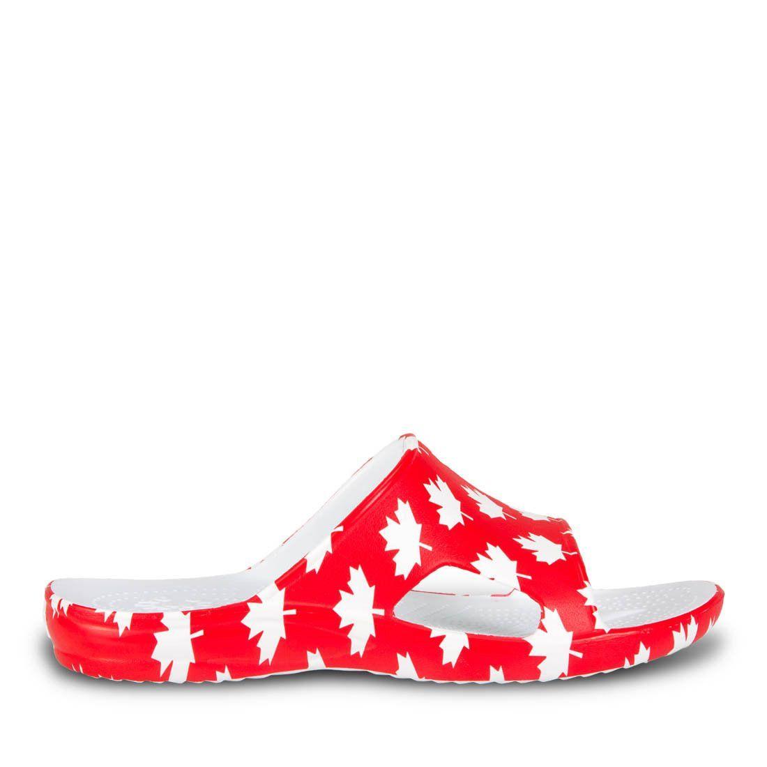 Men's Slides - Canada (Red/White)