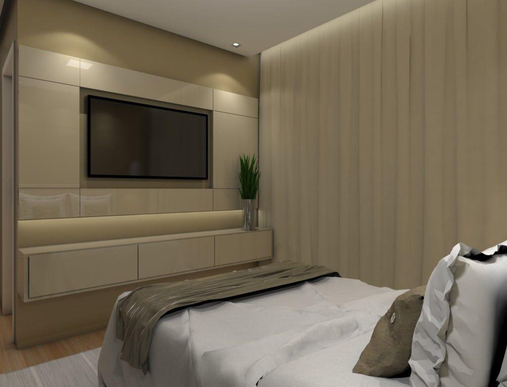 Onde colocar tv no quarto