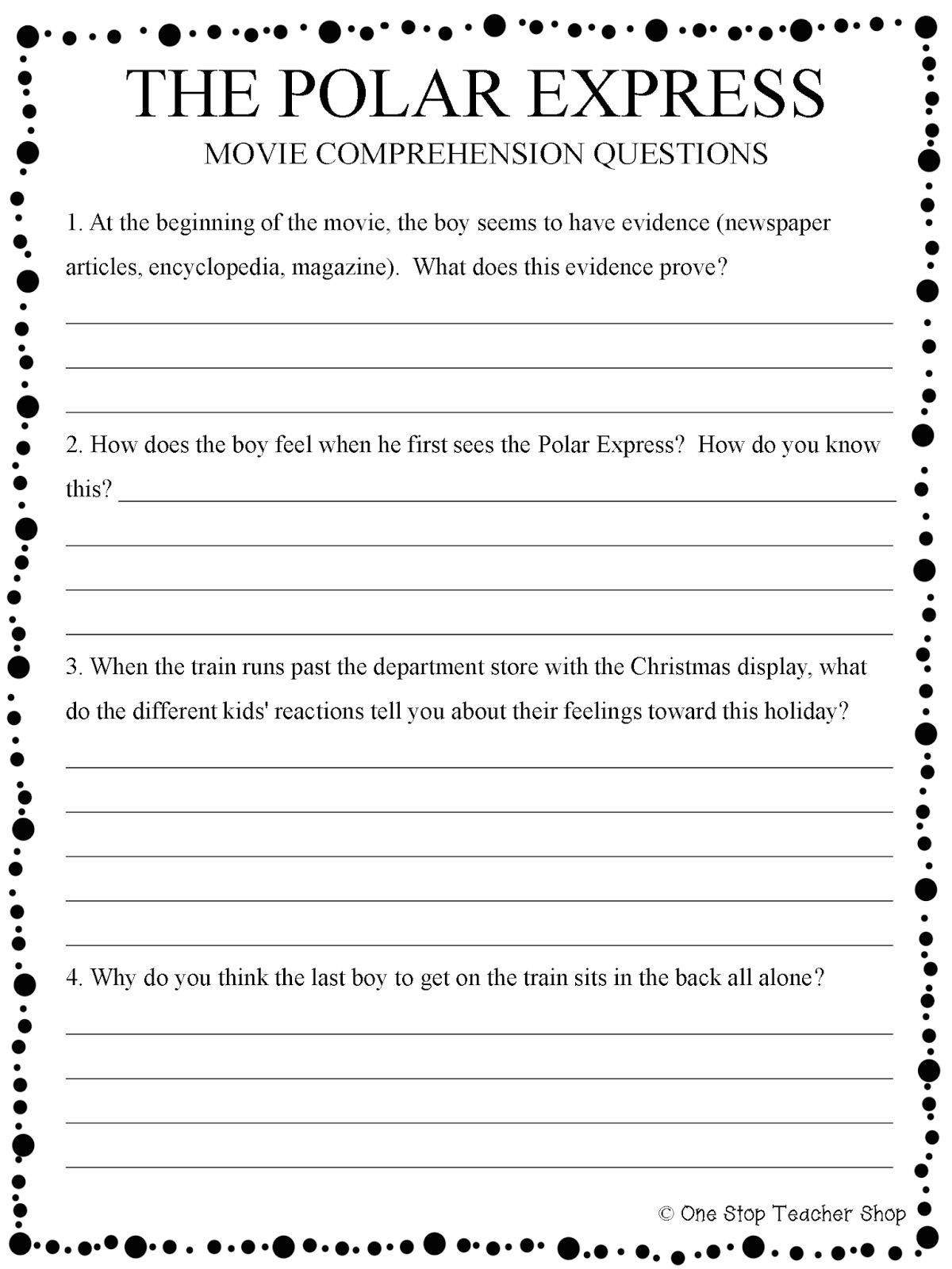 My 5 Favorite Holiday Classroom Traditions