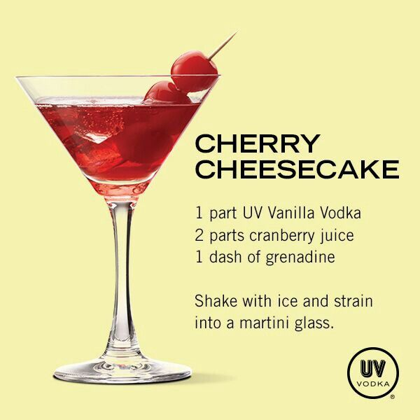 Cherry Cheesecake Drink Recipe