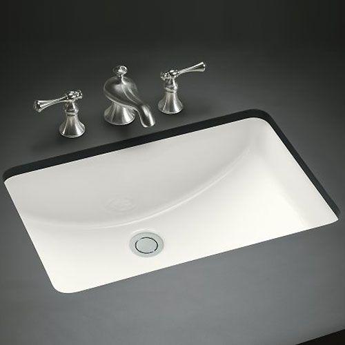 Master Bath Undermount Sink Mirabelle In White