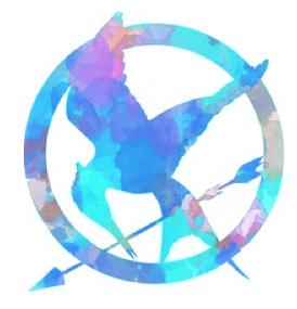 Blue Hunger Games Logo Hunger Games Hunger Games Fandom Hunger Games Trilogy