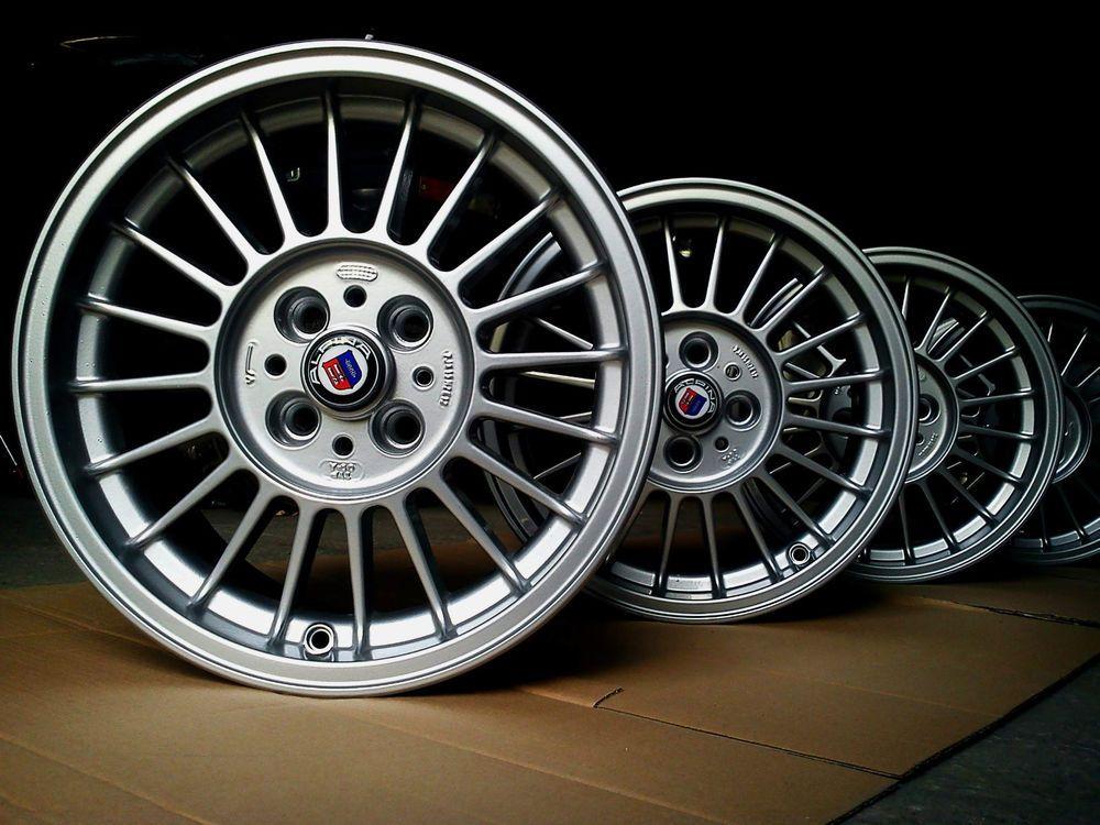 Oz King Alpina Alloy Wheels 7jx15 4x100 Et12 Bmw 2002