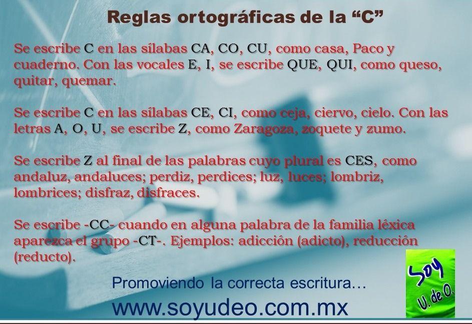 Tumblr N7zmtr53j81tyd4ago1 1280 Jpg 943 647 Reglas Ortograficas Letras Silabas