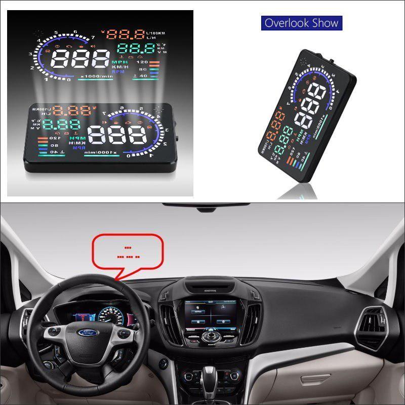 Liislee Car Hud Head Up Display For Ford C Max C Max Cmax Safe