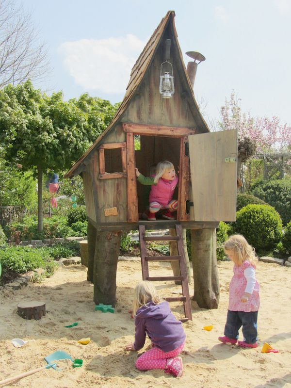 Kinderspielhaus Casa Tiki Lieblingsplatz Home Kinder Spielhaus Garten Kinderspielhaus Sandkasten Mit Spielhaus