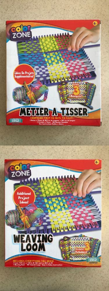 47171f92e Craft Kits 116655: Color Zone Weaving Loom Kit - Make 3 Potholders New ->  BUY IT NOW ONLY: $16 on #eBay #craft #color #weaving #potholders