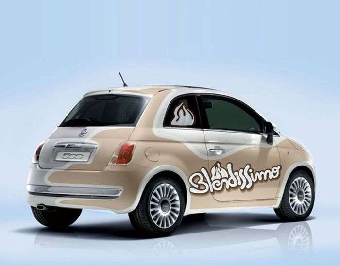 nude fiat 500 makes me think of ice cream cones puffy pink parisian pinterest fiat fiat. Black Bedroom Furniture Sets. Home Design Ideas