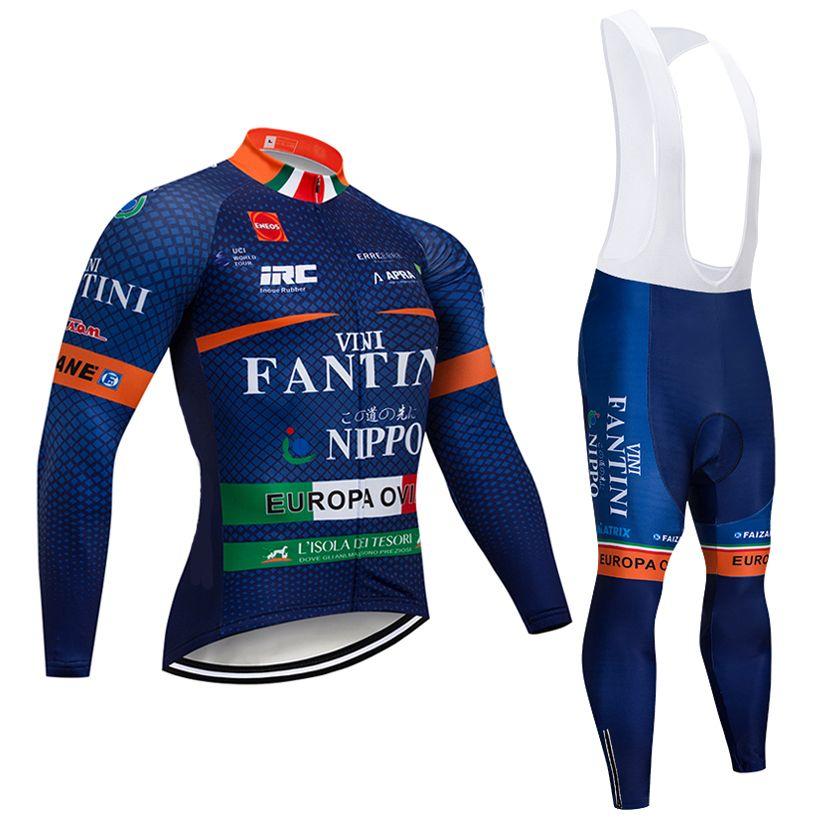 TREK Winter Thermal Fleece Cycling Jersey Road Bike Gel Bib Pant Bicycle Clothes