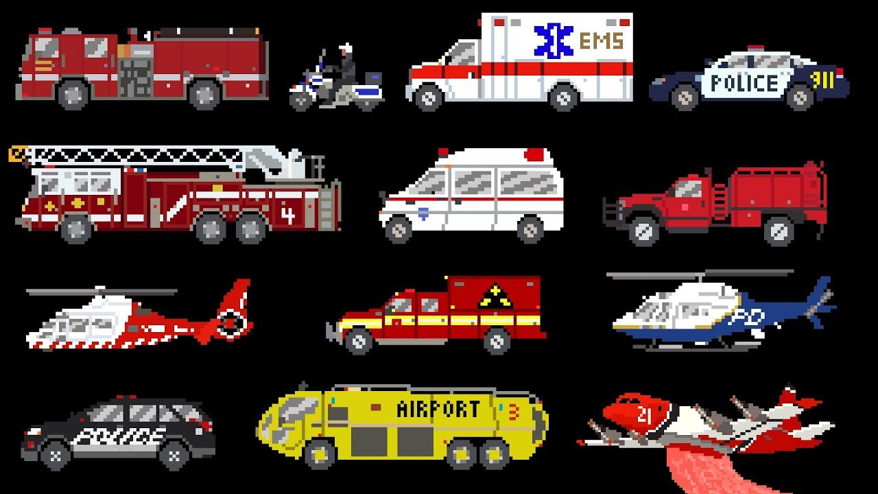 emergency vehicles rescue trucks fire police ambulance the kids picture show youtube emergency vehicles police ambulance emergency vehicles rescue trucks