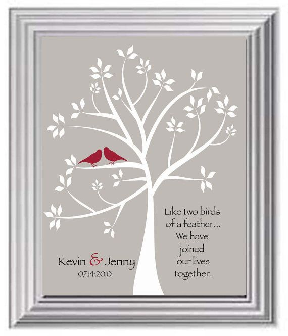 Valentines Day Gift Couples Names Print Wedding For Couple
