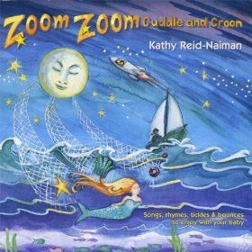 Sailing Sailing Over the Ocean by Kathy Reid-Naiman.  This sweet gentle song was perfect for both the babies and as a way to teach some sign language to our older children during the Under the Sea theme.