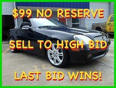 2004 Mercedes Benz Slk Class Slk230 Special Edition Loaded 99 No