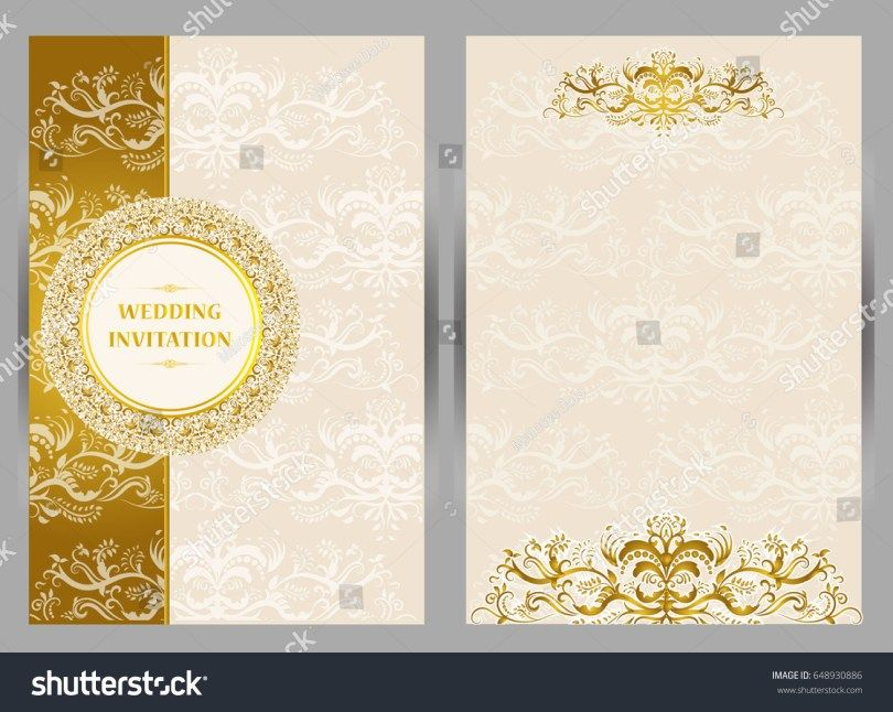 Wedding Invitations Wedding Invitation Card Template Marriage Invitation Card