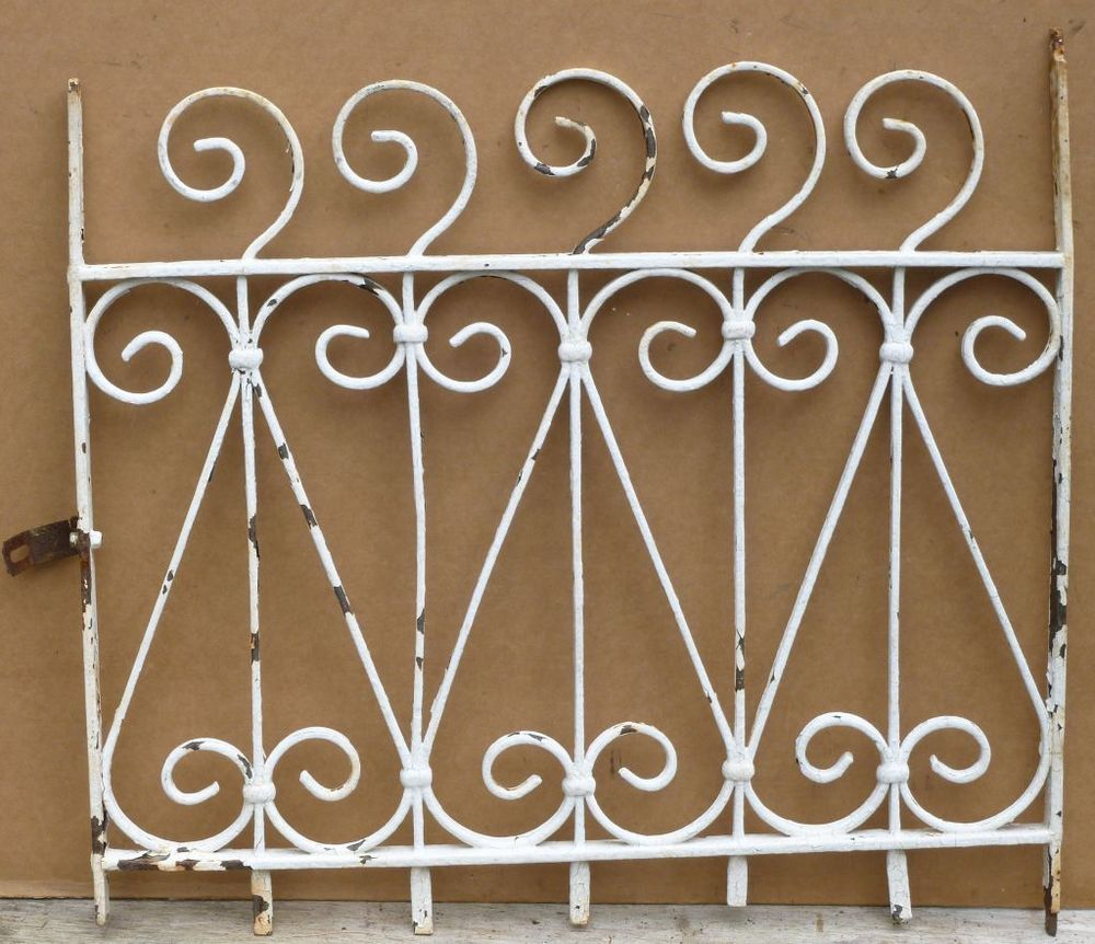 This Gate Was Used To Protect The Cellar Window On A Row Home In Philadelphia Description From Ebay Com I Searched Iron Windows Architectural Salvage Wrought