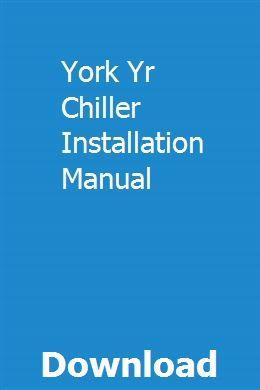 York Ym8m120c20mp11 Repair Service Manual User Guides EBook @ 3 ...