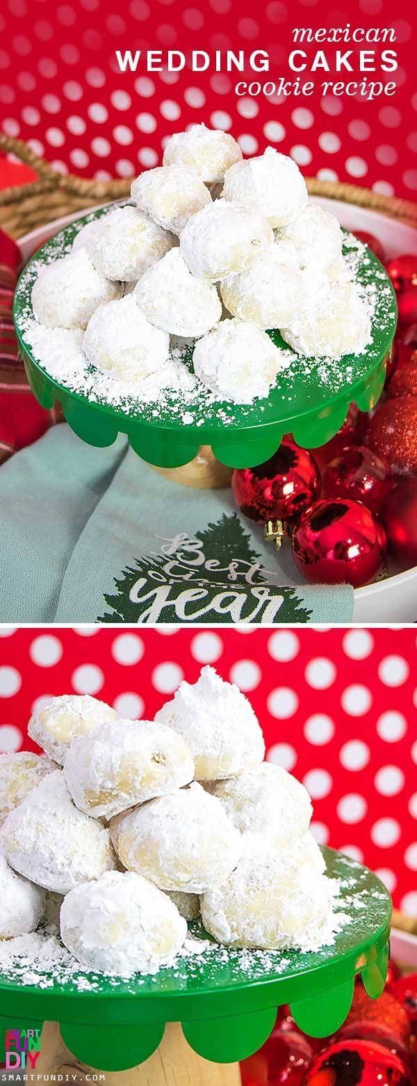 Mexican Wedding Cakes Recipe Or Russian Tea Cakes Cookies Recipe Mexican Wedding Cake Recipe Tea Cakes Russian Tea Cake