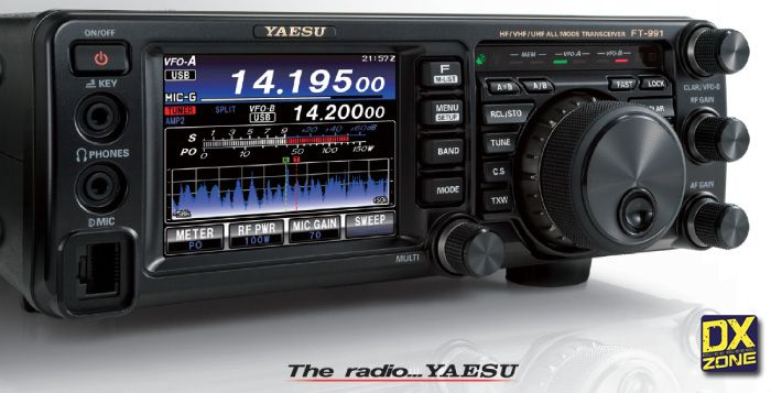Yaesu Ft 991 Brochure Ham Radio Radio Hf Radio