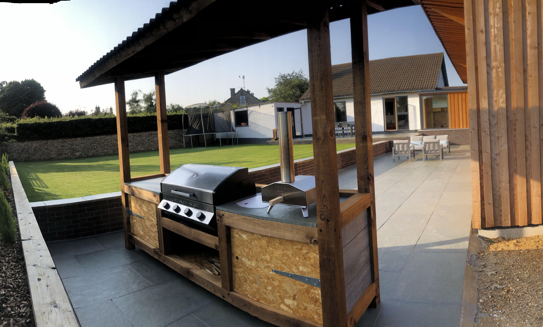 Covered Free Standing Outdoor Kitchen Uk Garden Uuni Pizza Oven Cadac Meridian Bbq Outdoor Kitchen Outdoor Bed Outdoor