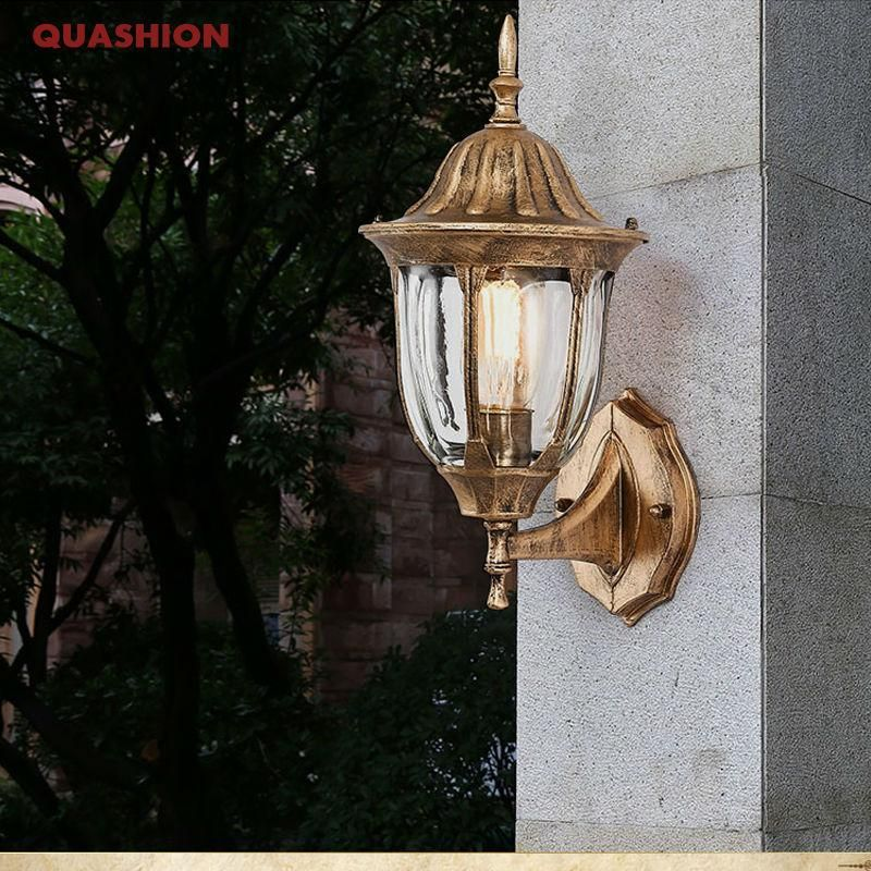 American Edison Retro Outdoor Wall Sconce Outdoor Wall Sconce Garden Wall Lights Sconces