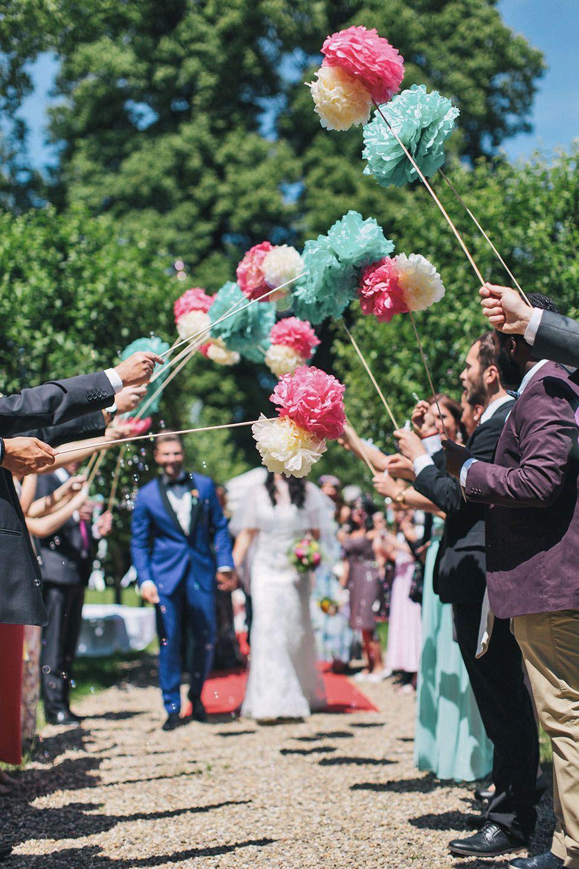 Hochzeitsspalier