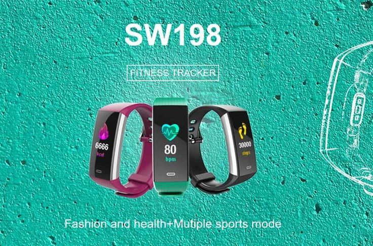 Chinese Factory IP67 Waterproof Fitness Smart Bracelet SW198 - #Bracelet #Chinese #Factory #Fitness...