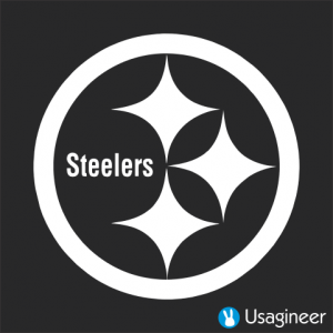 4bd523ef PITTSBURGH STEELERS NFL Sports VINYL DECAL STICKER. The custom decal vinyl  sticker can be applied