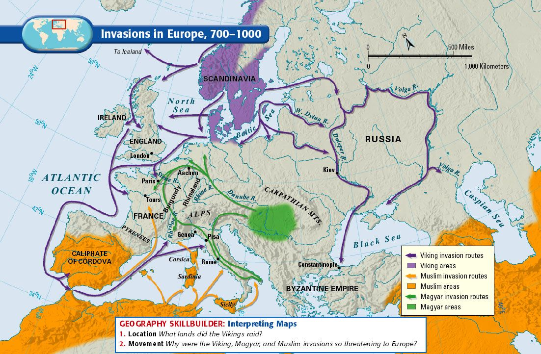a history of the vikings in europe Just as christian europe had settled down after the barbarian invasions,  the duke of normandy, would change history forever in the year 1066 vikings in kiev.