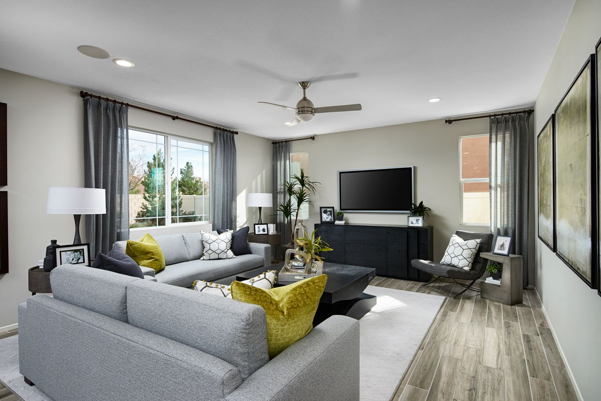 Inviting great room