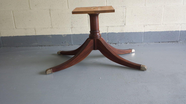 Ethan Allen Mahogany Coffee Table Base Legs Ethan Allen Furniture
