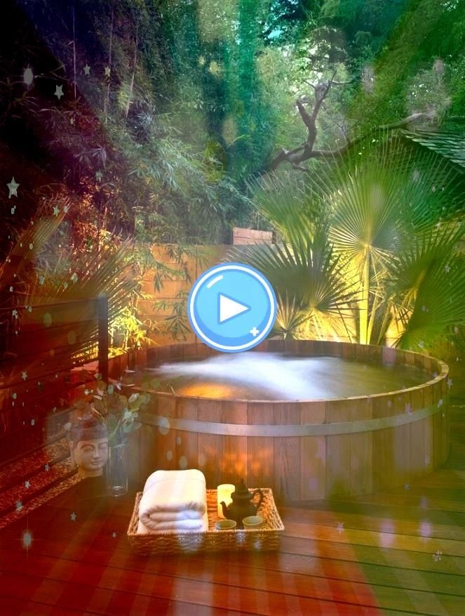 a jacuzzi outdoors and discovering a great view will assist you unwind and develop an inner peace which is the most crucial for youPutting a jacuzzi outdoors and discover...