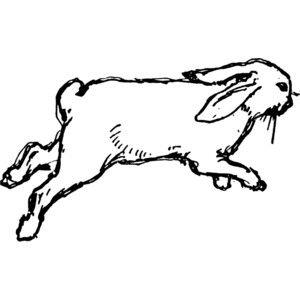 Run Rabbit Run Clip Art
